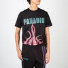 Black t-shirt with printed tentacles by 3.Paradis at Secret Location
