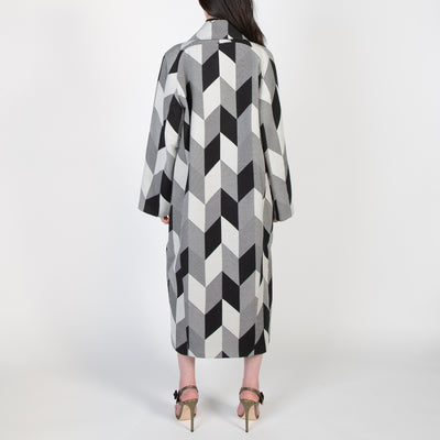 Mozik Checkered Coat