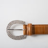 Anguilla Belt w/ Jewel Buckle