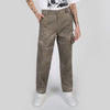Beige workwear trousers with pocket by Blue Marble at Secret Location