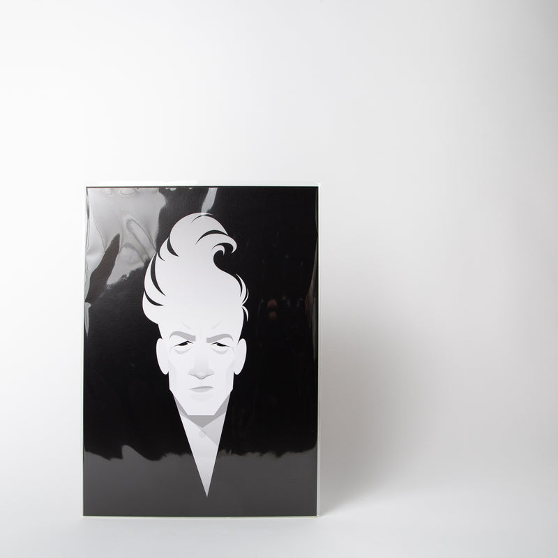 David Lynch portraiture by Stanley Chow Print Shop at Secret Location