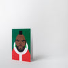 Mr T Christmas card by Stanley Chow Print Shop at Secret Location
