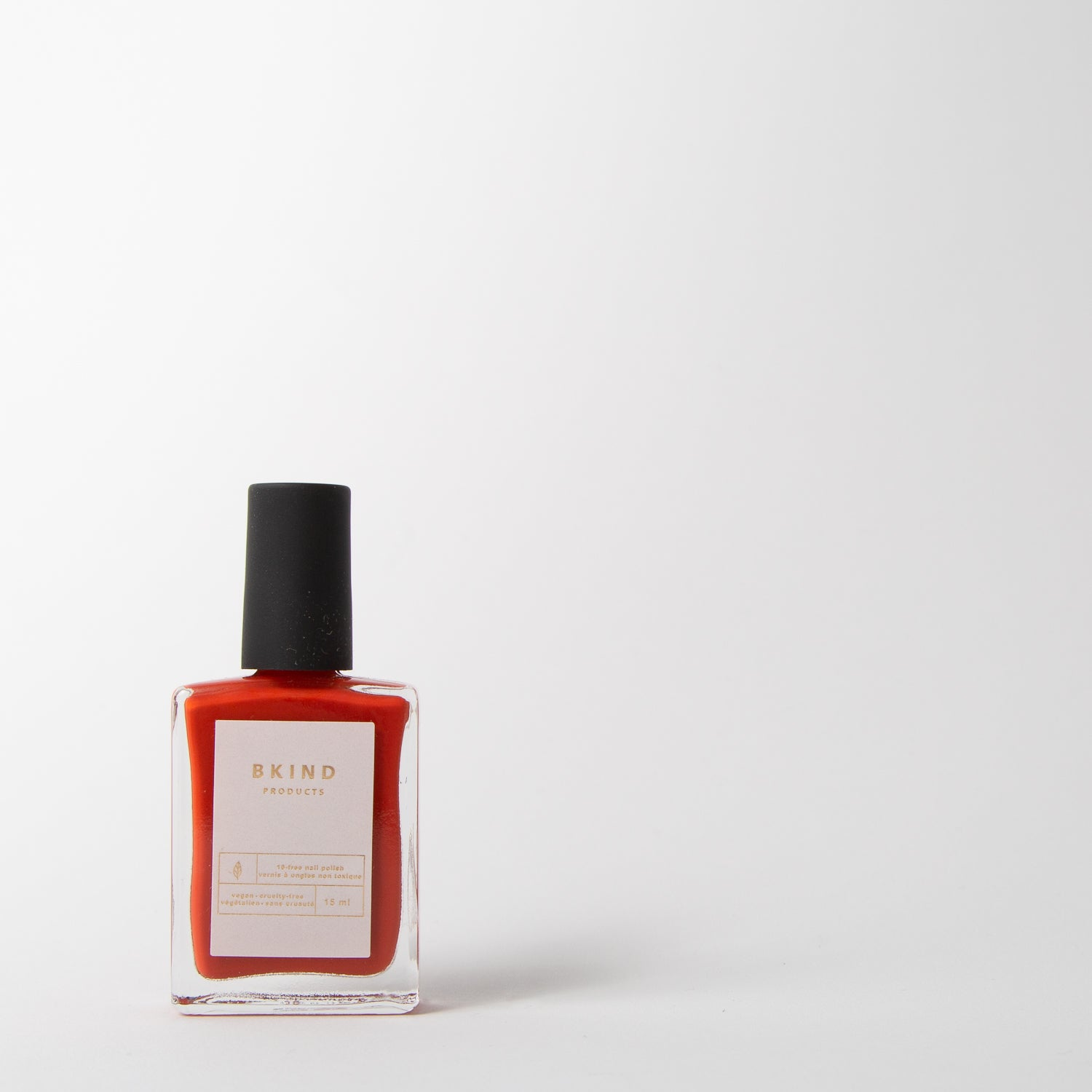 Nail polish in fire red by BKind at Secret Location Concept Store