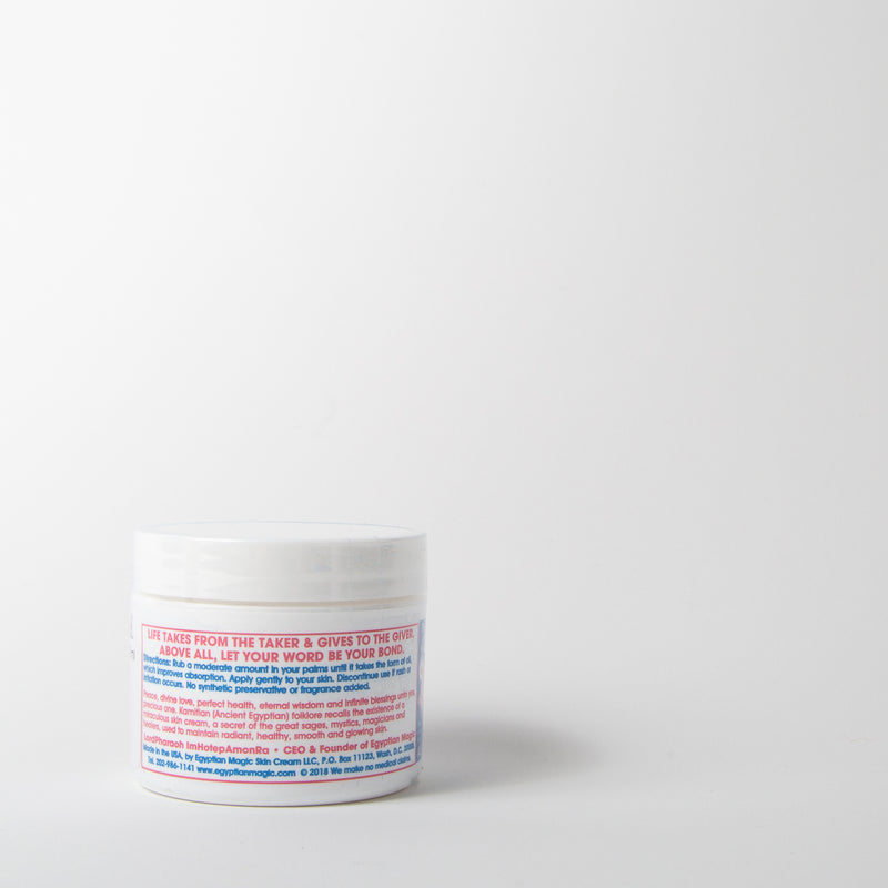 All-purpose cream all-natural ingredients Egyptian Magic at Secret Location