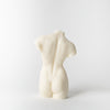 Female Form Candle, white