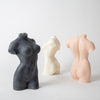 Female Form Candle, noir