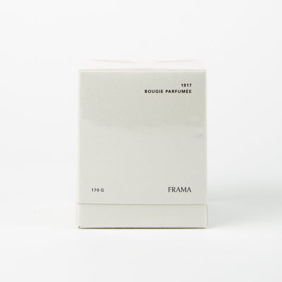 candle in scented 1917 by Frama at Secret Location concept store