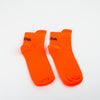ribbed ankle socks in orange by Ssheena at Secret Location concept store
