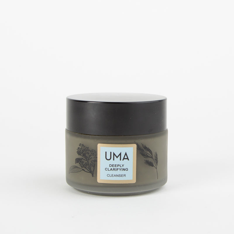deeply clarifying neem charcoal cleanser by UMA at Secret Location Concept Store