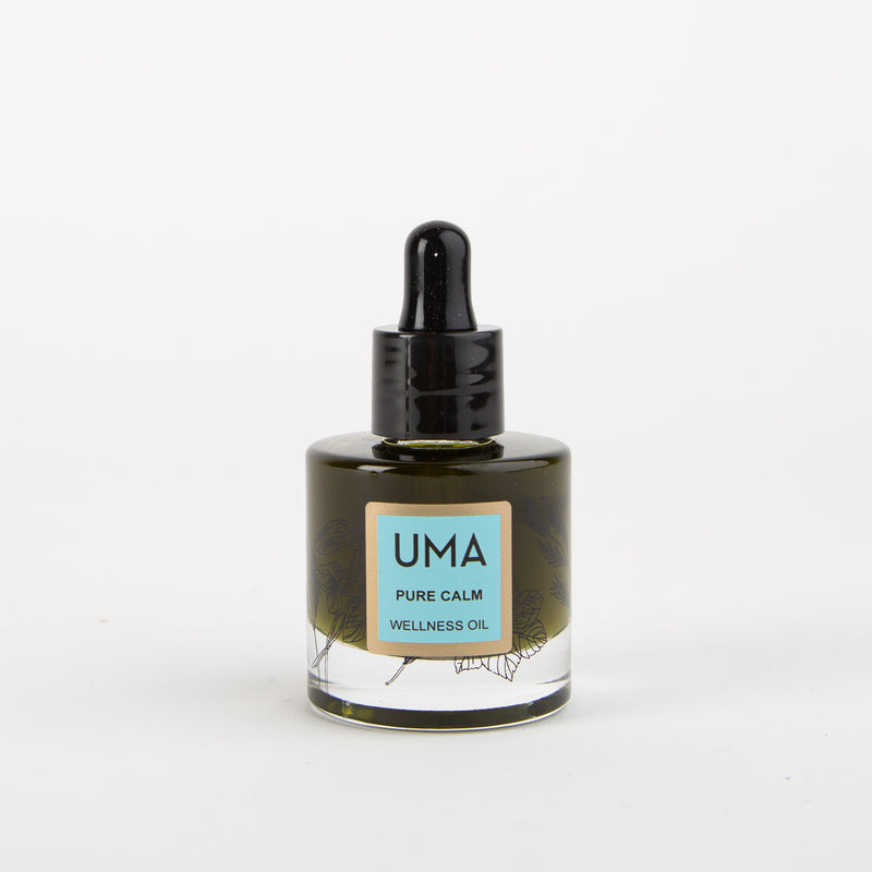 Pure calm wellness oil aromatherapy by UMA at Secret Location Concept Store