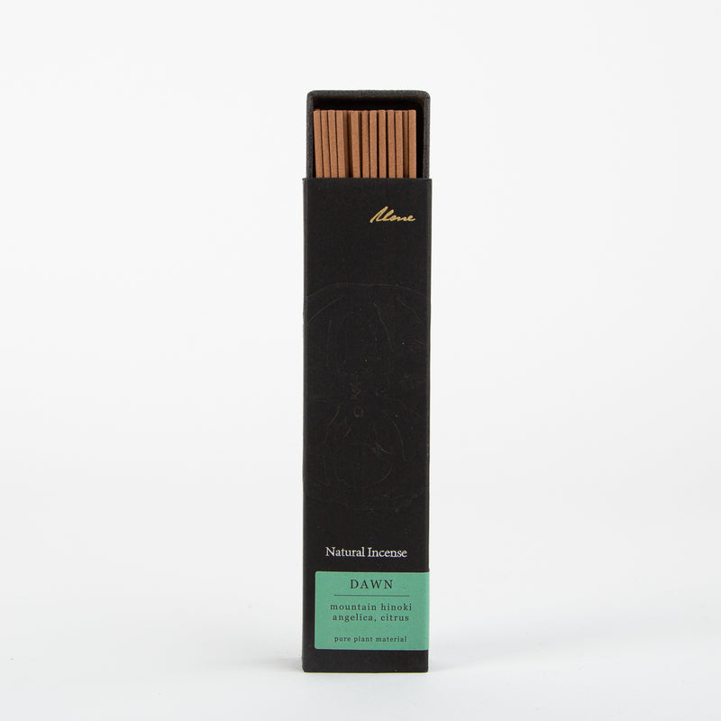 dawn natural incense sticks by Ume collection at Secret Location