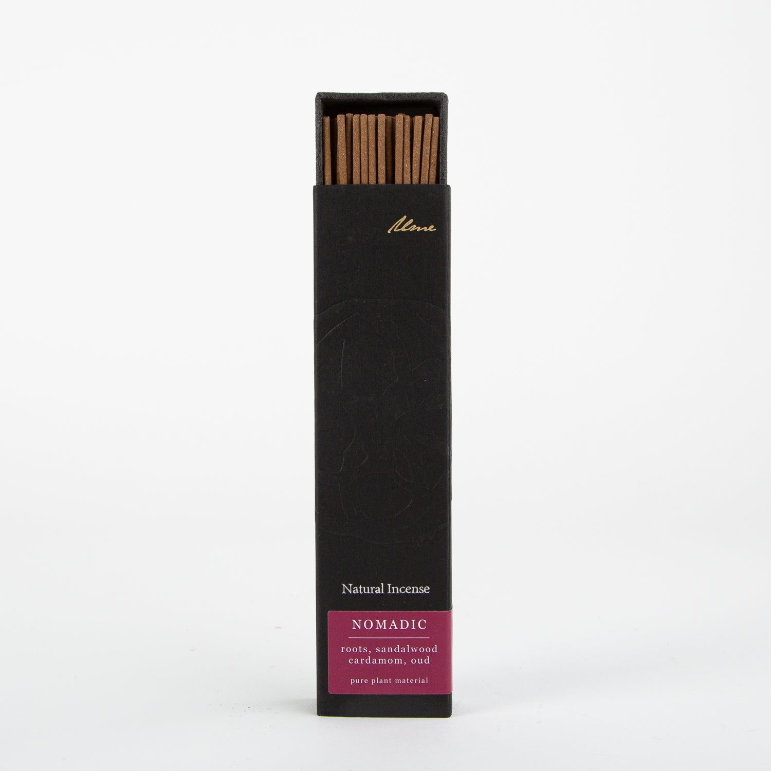 nomadic natural incense sticks by Ume collection at Secret Location