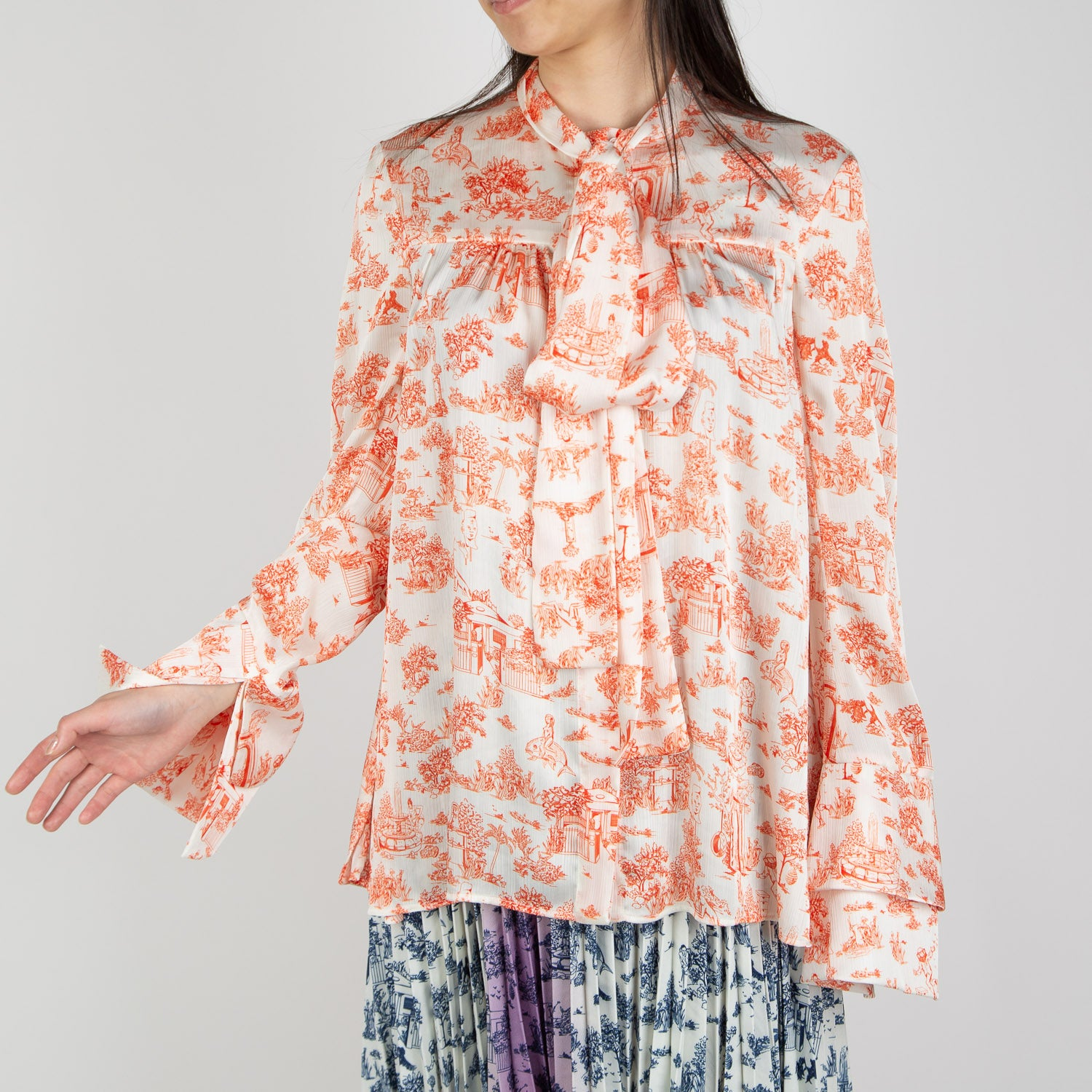 printed woodland blouse by Ssheena at Secret Location