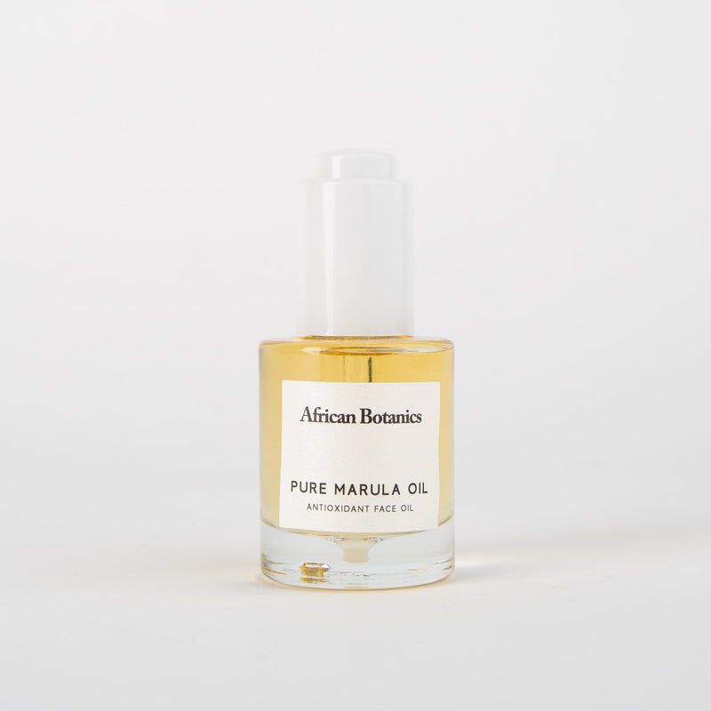 Pure marula oil skincare product by African Botanics at Secret Location
