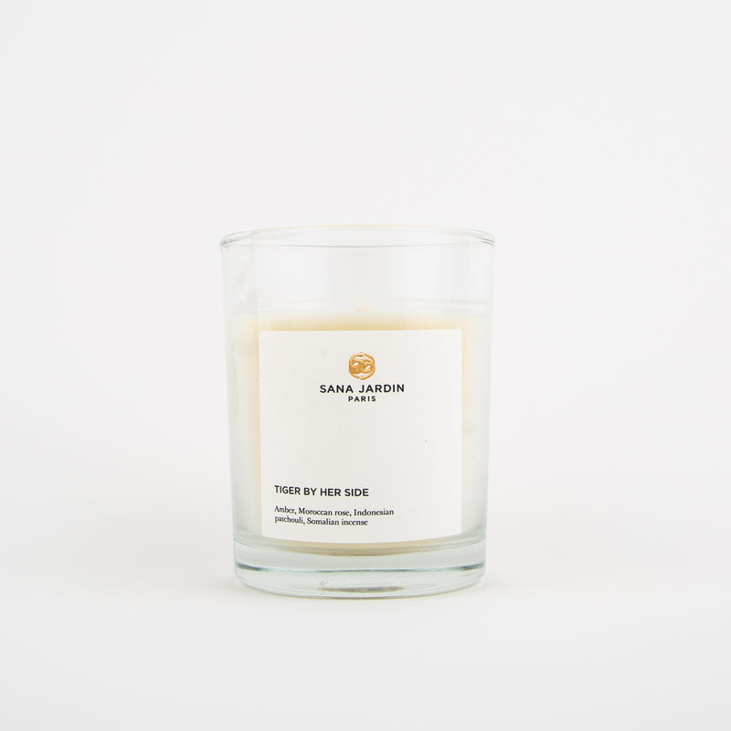 tiger by her side scented candle by Sana Jardin at Secret Location