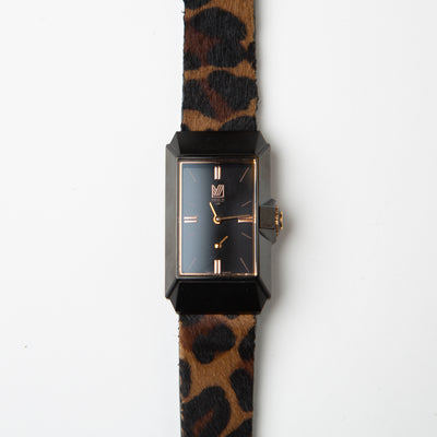 JM1 Black Dial / Cheetah Strap