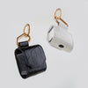 AirPods Case, black crocodile