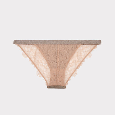 Wild Rose Brief, gold