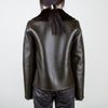 Rose Reversible Vegan Leather Jacket