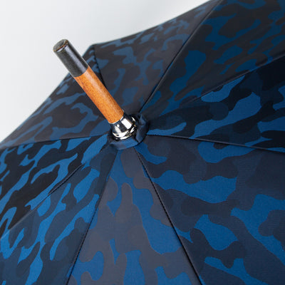 Navy Blue Camouflage Umbrella