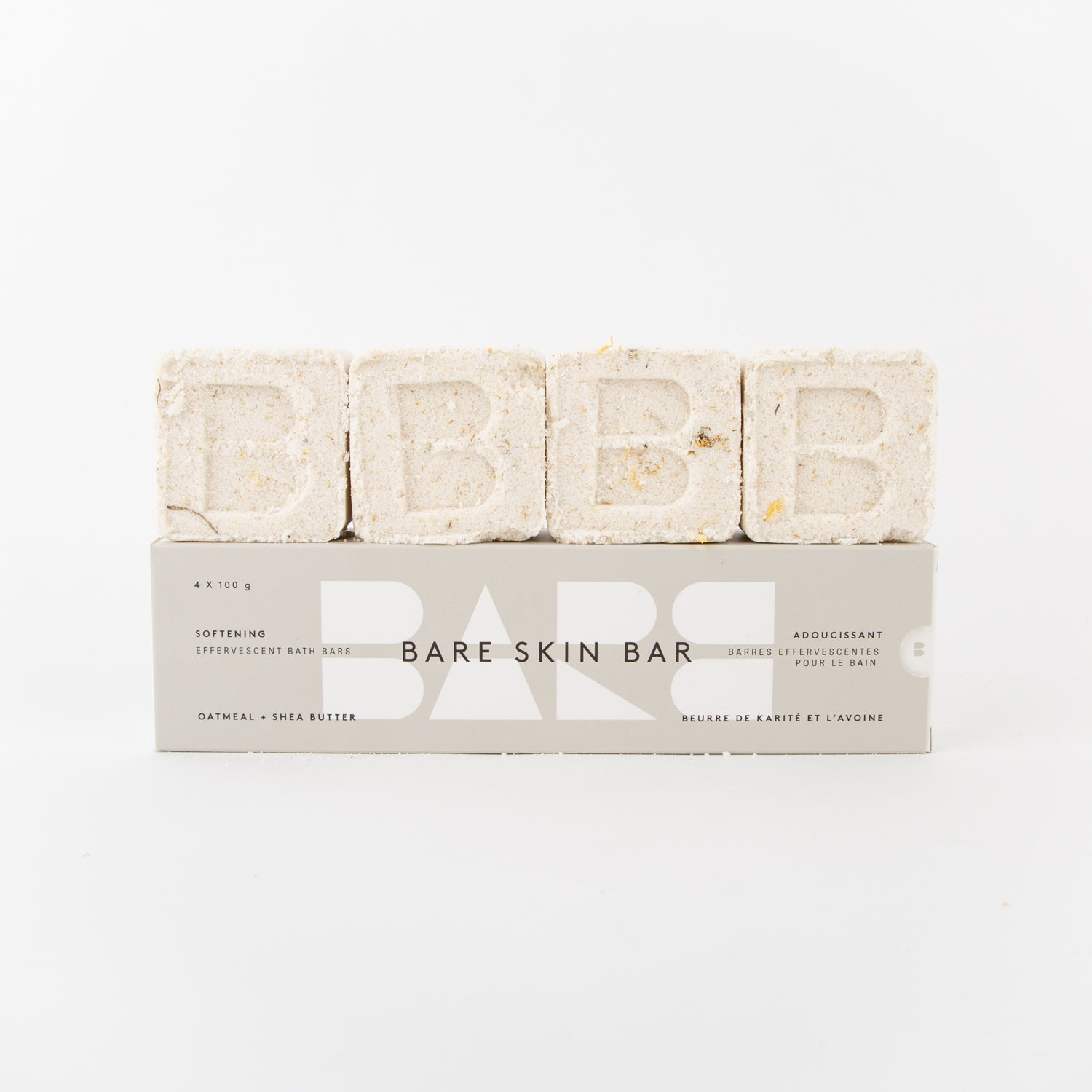 shea butter softening bath bar pack