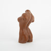 Female Form Candle, terracotta