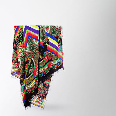 Paisley Floral Rectangle Scarf