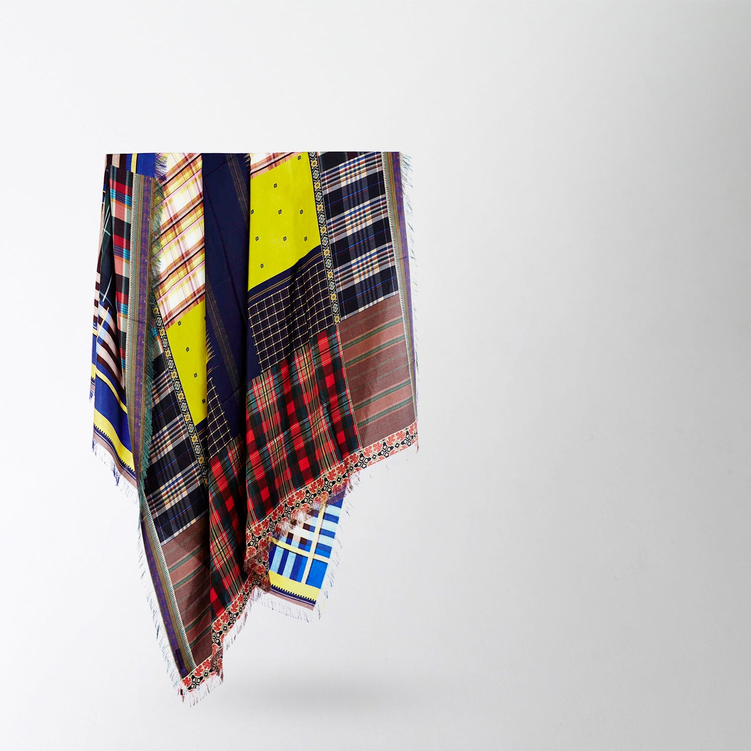 Patchwork Rectangle Scarf