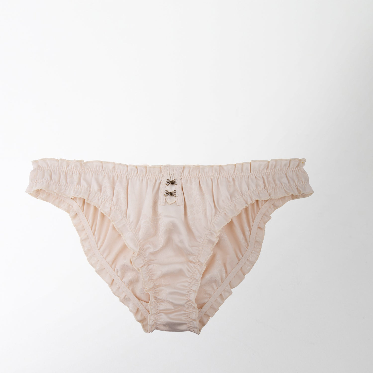 cream coloured lolita brief by Love Stories Intimates at Secret Location Concept Store