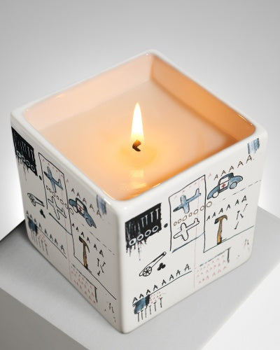 Jean-Michel Basquiat - 'AAA' Candle
