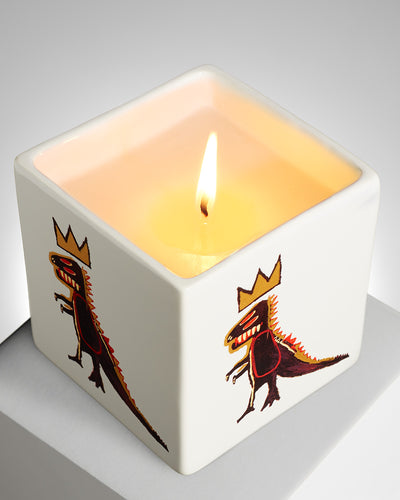 Jean-Michel Basquiat - 'Gold Dragon' Candle