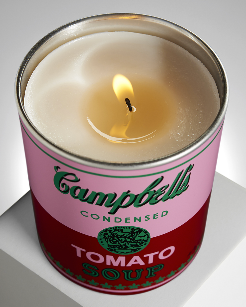 Andy Warhol - 'Red Tomato Leaf' Candle