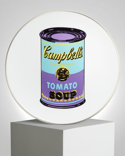 Andy Warhol - 'Purple Soup' Plate
