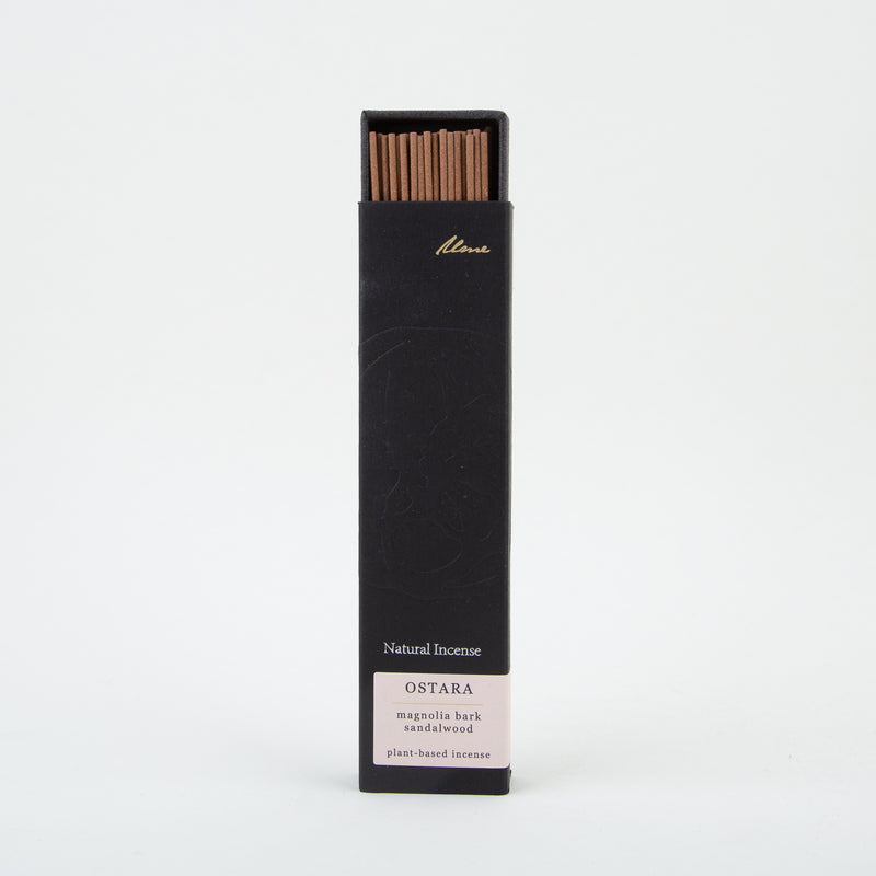 natural incense sticks by ume collection at secret location concept store