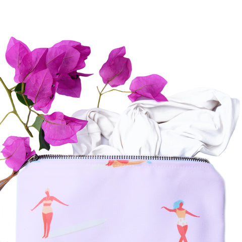 August Effects Bikini Bag