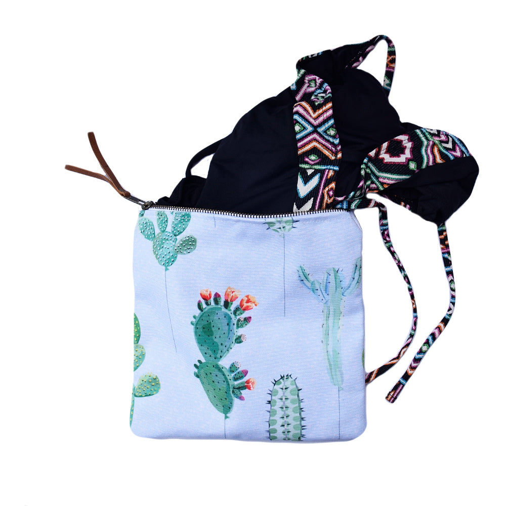 BASAH BIKINI BAG - CACTUS (WITH EXTRA ROOM)