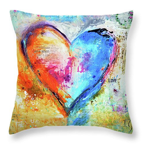 The Patience Of Love - Throw Pillow - ivanguaderramaonlinestores