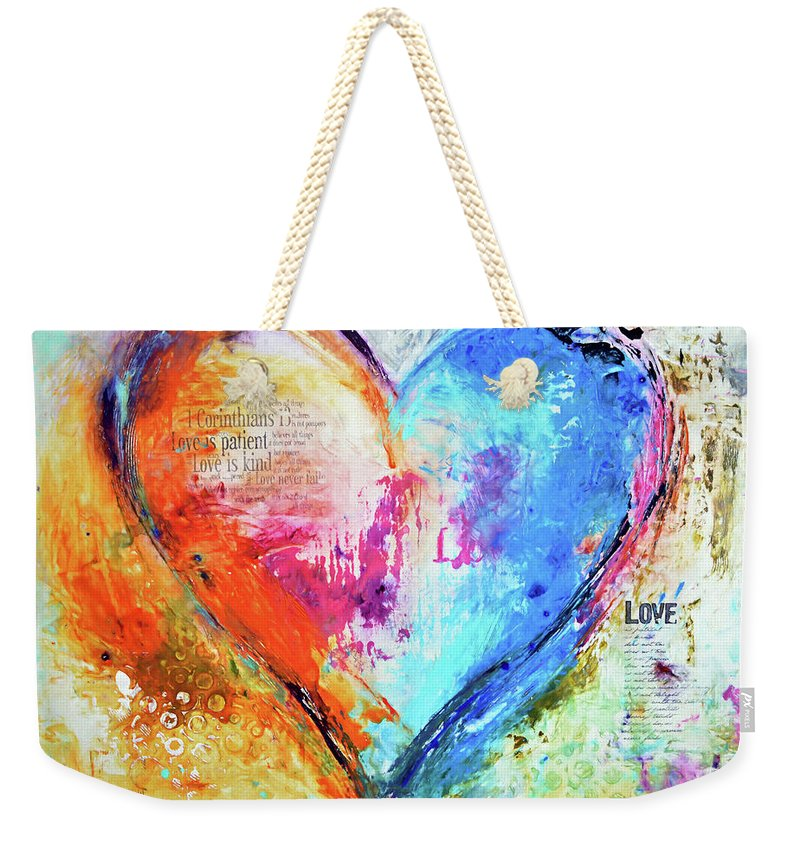 The Patience Of Love - Weekender Tote Bag - ivanguaderramaonlinestores