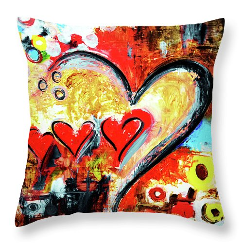 Family Love - Throw Pillow - ivanguaderramaonlinestores