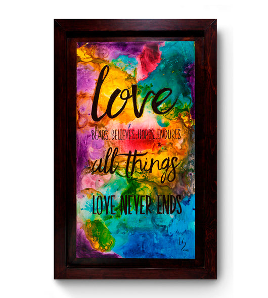 Love never ends - ivanguaderramaonlinestores
