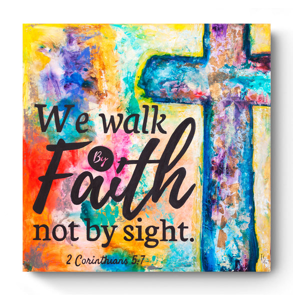 Walk by Faith - ivanguaderramaonlinestores