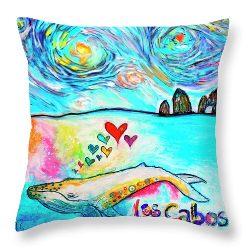 Los Cabos - Throw Pillow - ivanguaderramaonlinestores