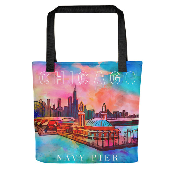 Chicago Navy Pier Tote bag - ivanguaderramaonlinestores