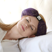 Purple Beauty Loop Anti-Aging Pillow In Use