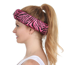 Pink Zebra Beauty Loop Anti-Wrinkle Pillow Left Side