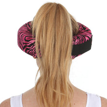 Pink Zebra Beauty Loop Anti-Aging Beauty Pillow Back Side
