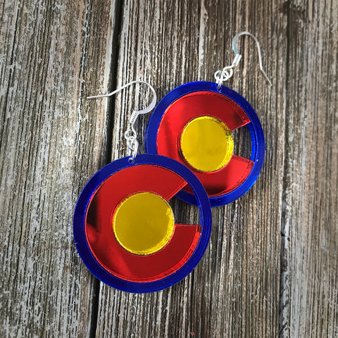 CO Hoop Earrings