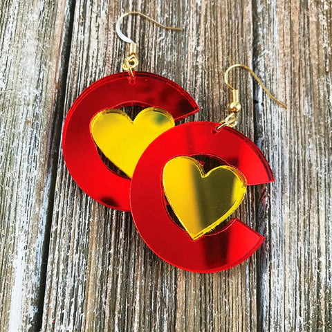 Colorado Love Drop Earrings