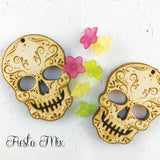 DIY Day of the Dead Skull Kit Earrings