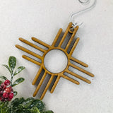 Zia Bamboo Wood Ornament